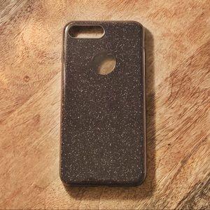 Accessories - Black sparkly iPhone 8plus/7plus/6plus case